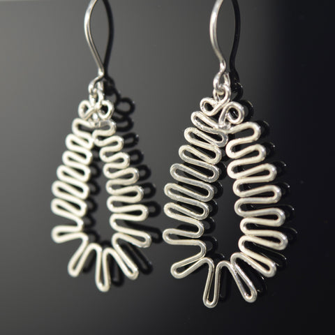 Energia Sterling Silver Earring