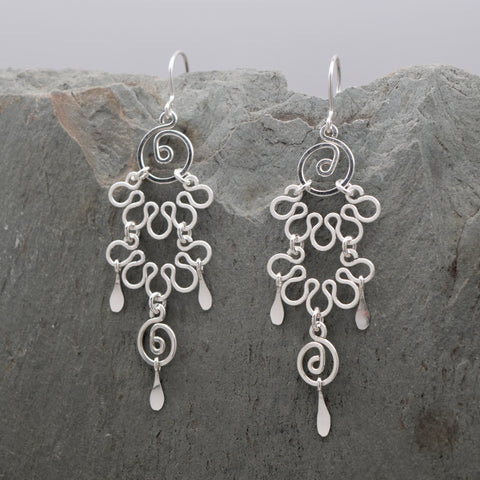 Sacha Sterling Silver Earring