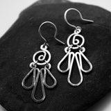 Condor Sterling Silver Earring