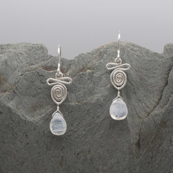 Kindi Moonstone Earring