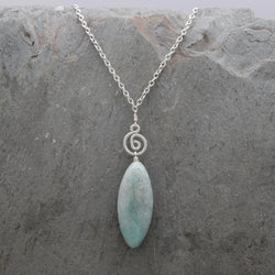 Pacha Drop Necklace Amazonite