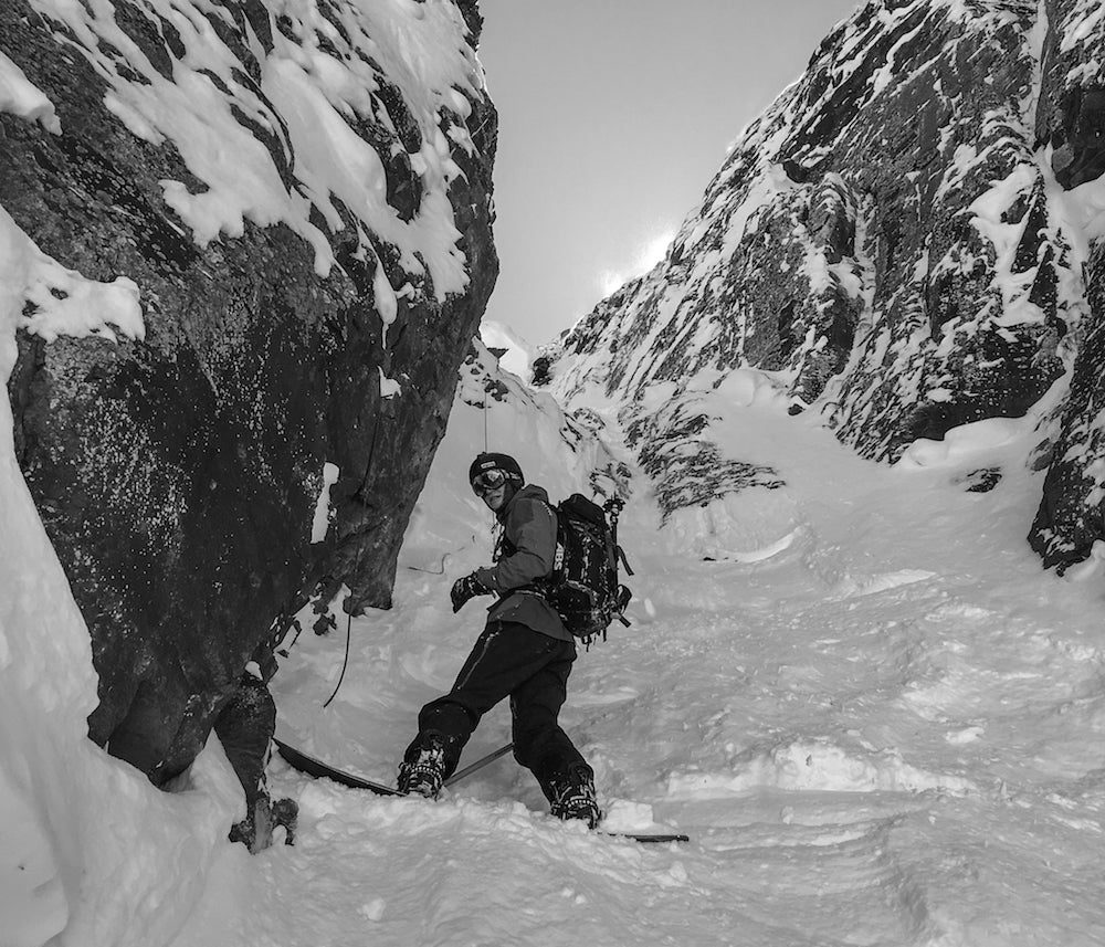 Venture Snowboards Ambassador, Devin Overton, Splitboarding, Oblivion to The Godfather, Telluride, Colorado