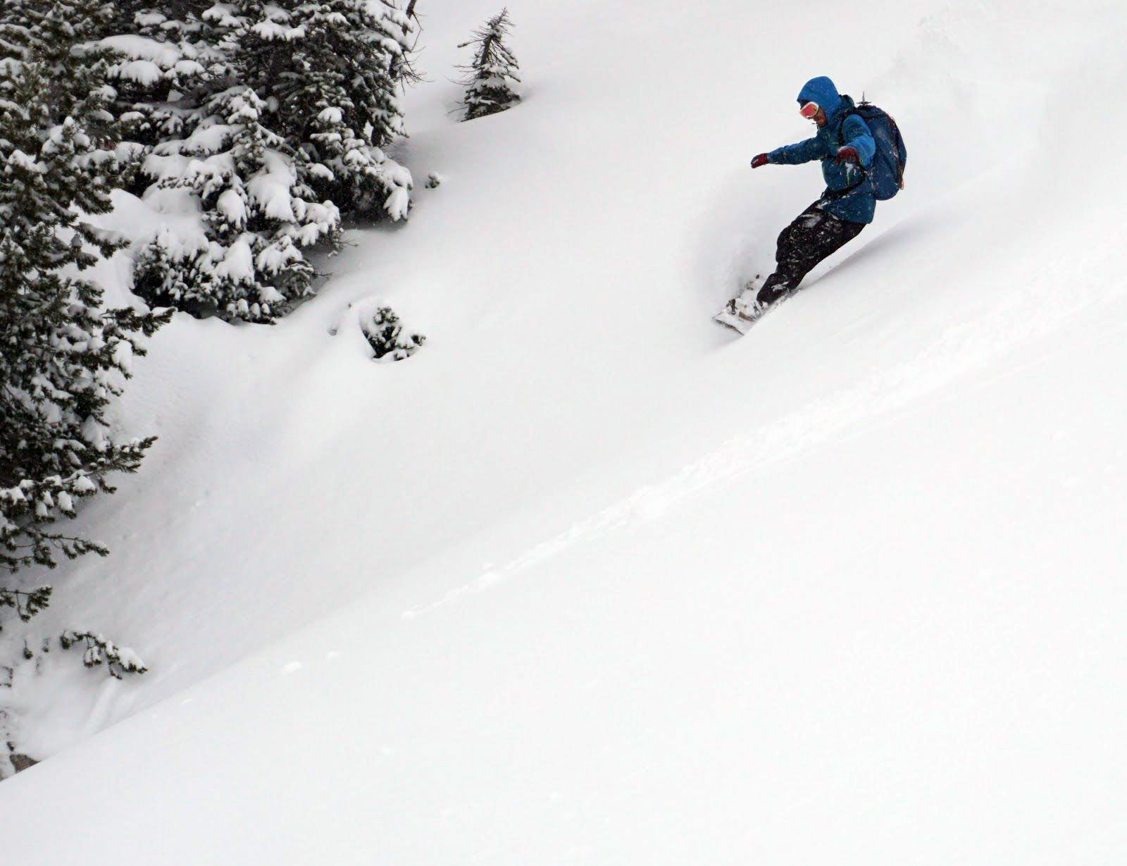Venture Snowboards Ambassador, Brett Menter, Backcountry, Splitboarding, Duffy Lake Yurt, British Columbia