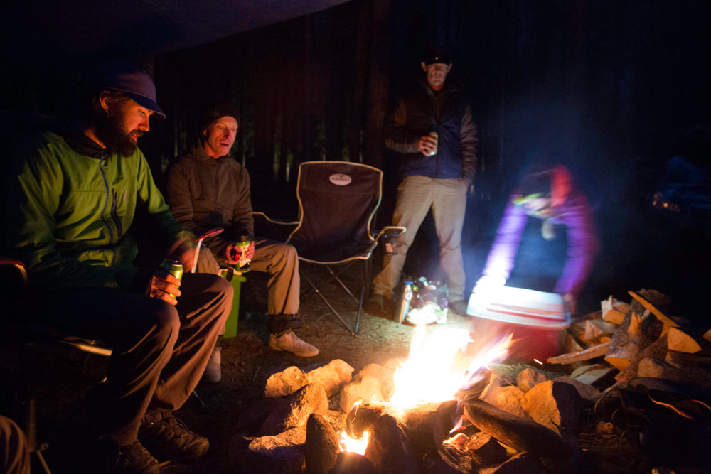 Venture Snowboards Beartooth Sessions Backcountry Camping in MT