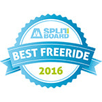 Venture Storm Splitboard Named Best Freeride Board by Splitboard Magazine