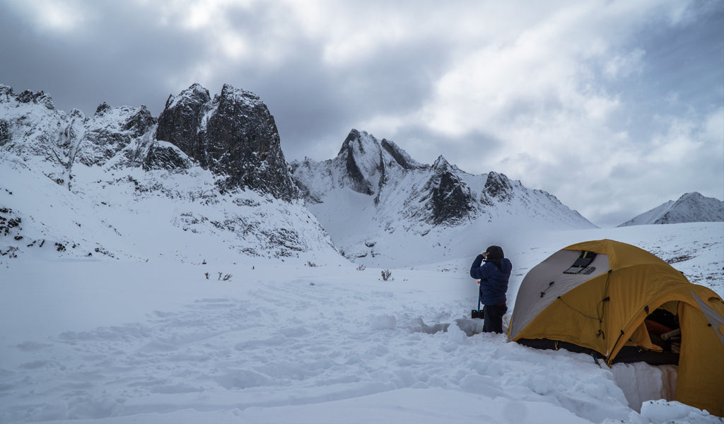 Venture Snowboards Wigley Basecamp in Tombstone Provincial Park