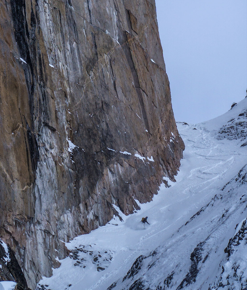 Venture Snowboards Couloir in Tombstone Provincial Park