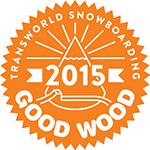 Zelix TransWorld Snowboarding Good Wood Award 2015