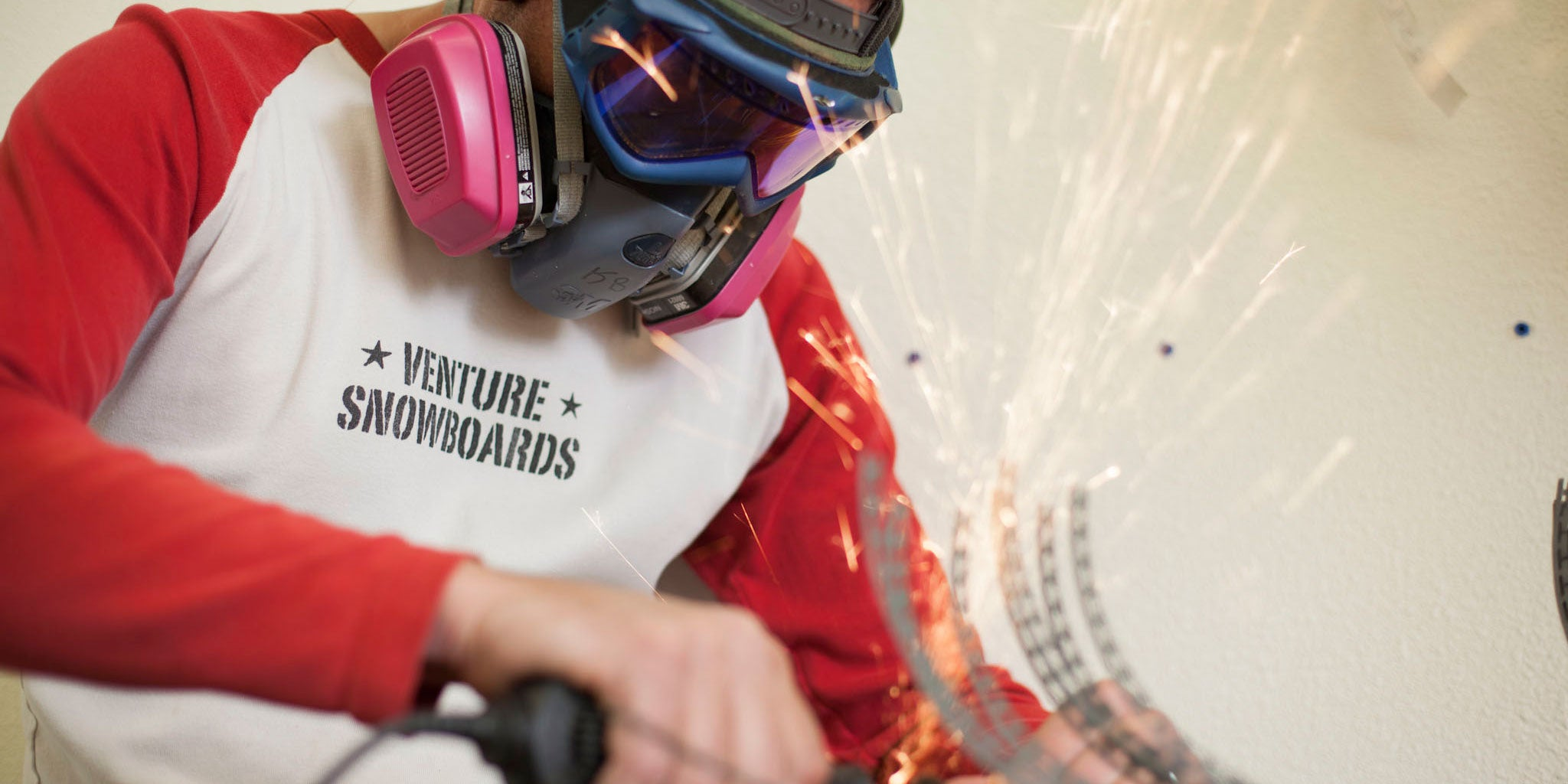 Hand crafting the finest snowboards on the planet at Venture Snowboards.
