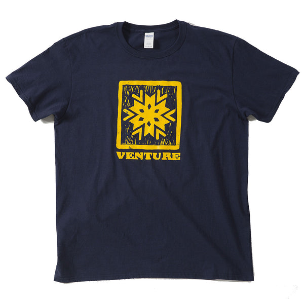 Men's T-shirt - Woodcut Graphic