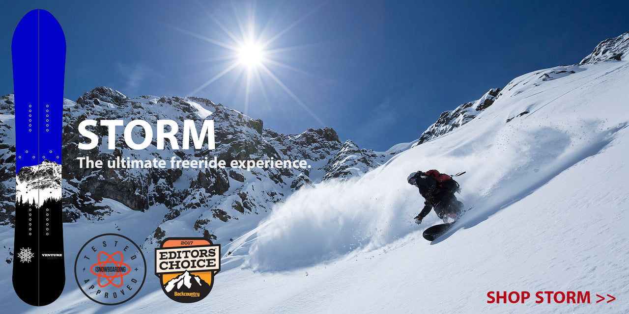 Venture Storm Splitboard - Award Winning Freeride Board