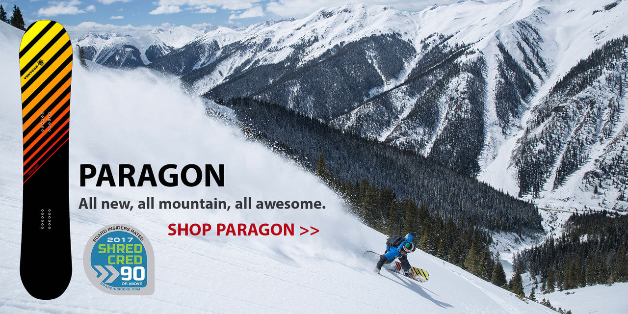 Venture Paragon - Best All Mountain Snowboard of 2017