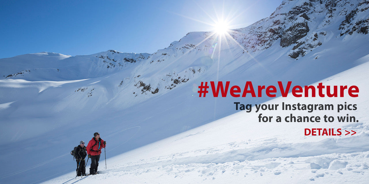 Enter the #WeAreVenture photo contest for a chance to win great prizes.
