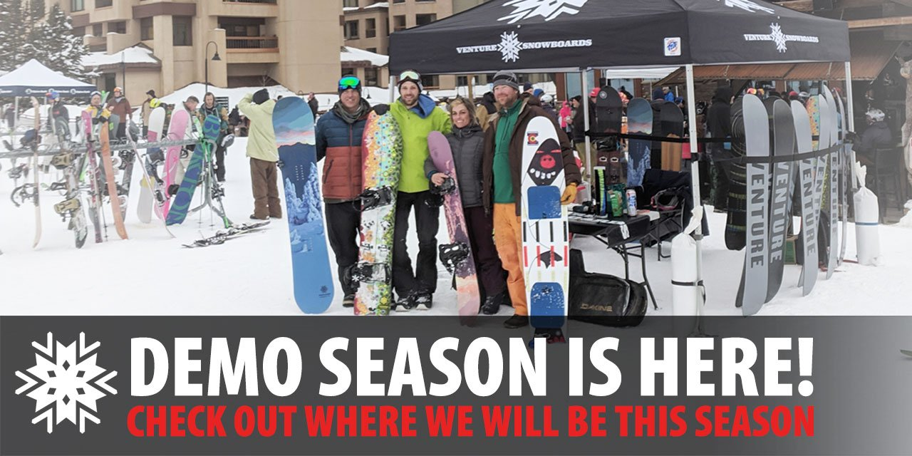 Venture Snowboard's introduces crash replacement and factory repairs