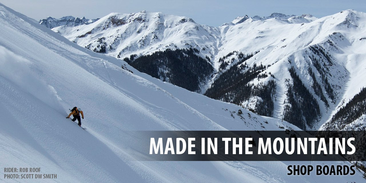 Venture Snowboards Made In the Mountains