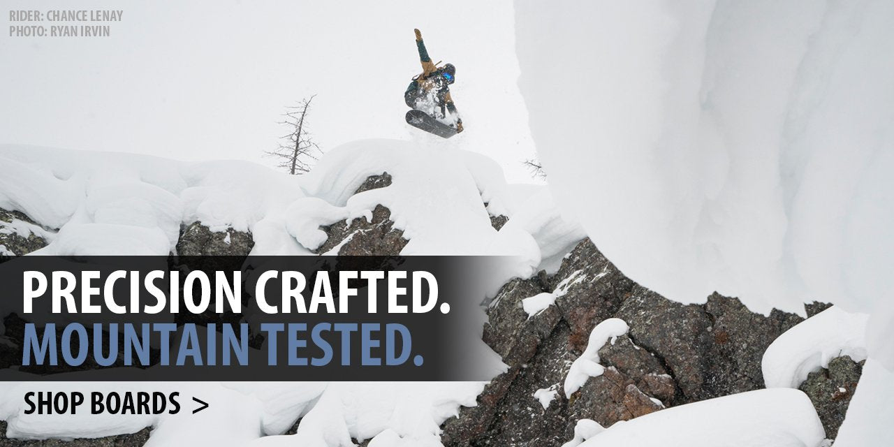 Shop Venture Snowboards. Precision crafted in the mountains