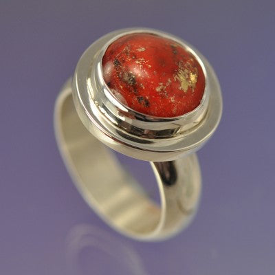 memorial ring cremation ash glass