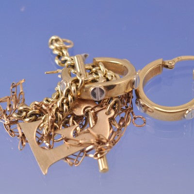 recycled metal gold jewellery