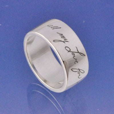 sterling silver handwriting
