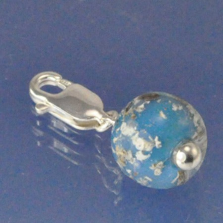 Cremation Ash Glass Bead Drop Bead Chris-Parry-Handmade
