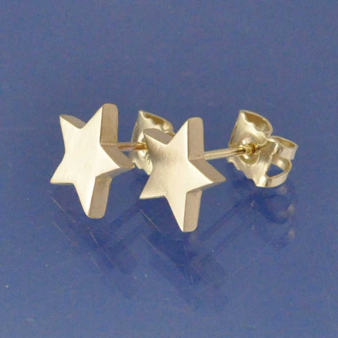 Cremation Ash Star Earrings Earring Chris-Parry-Handmade