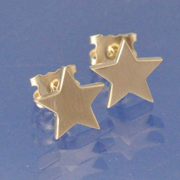 Cremation Ash Star Earrings