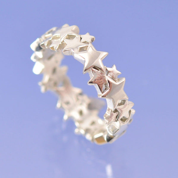 Cremation Ash 6mm Star Ring