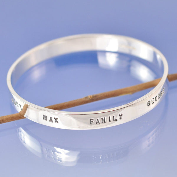 8mm Personalised Bangle