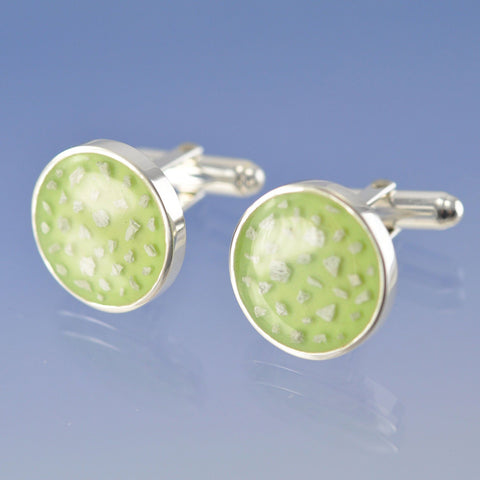 Cremation Ash Resin cufflinks