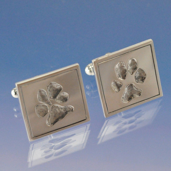 Your Pet Paw Print Cufflinks