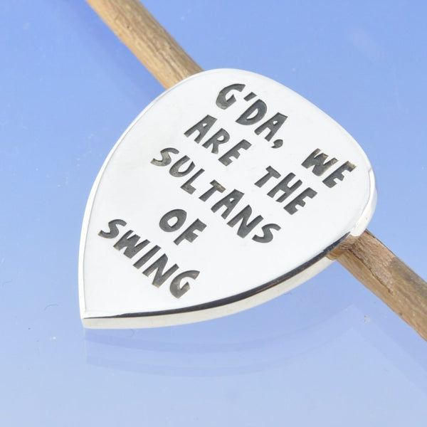Cremation Ash Guitar Plectrum