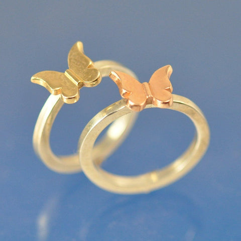Butterfly Stacking Ring Ring Chris-Parry-Handmade