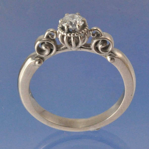 Cinderella's Carriage Diamond Ring