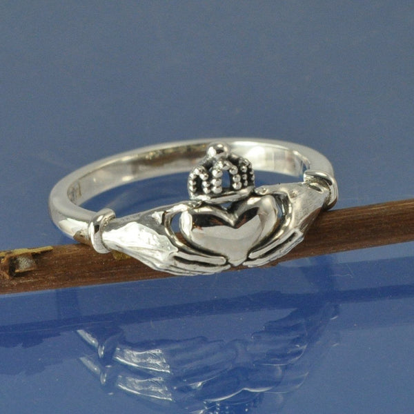 Cremation Ash Claddagh Ring