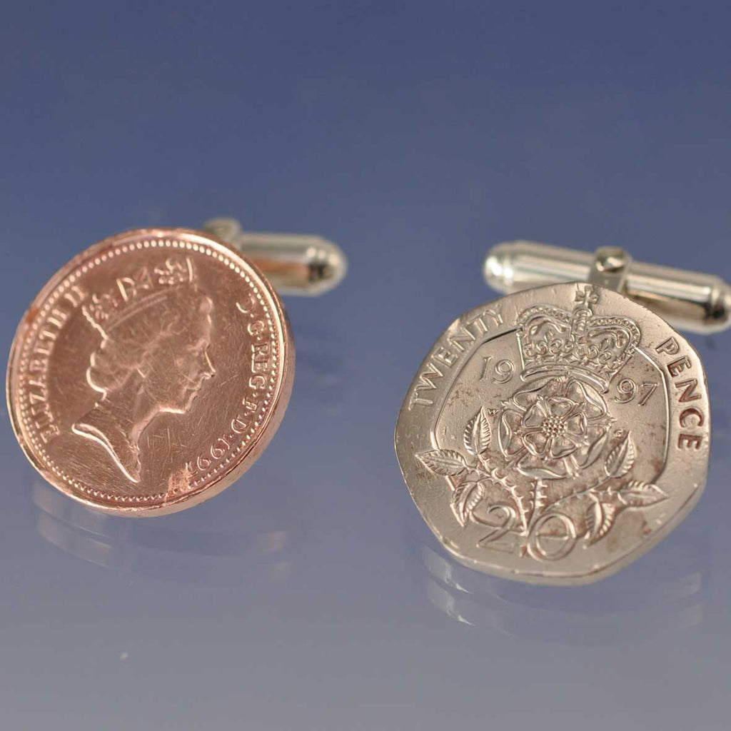 Your Coins Made into Cufflinks
