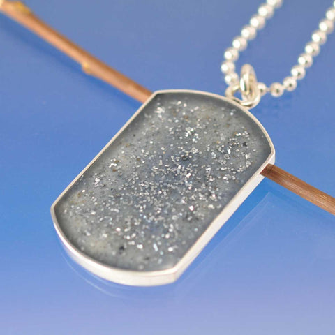 Cremated Ash Dog Tag