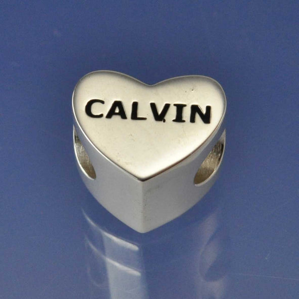 Cremation Ash Resin Heart Bead
