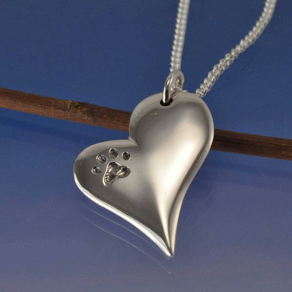 Cremation Ash Contemporary Heart
