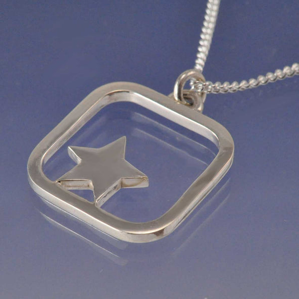 Star Cremation Ash Pendant