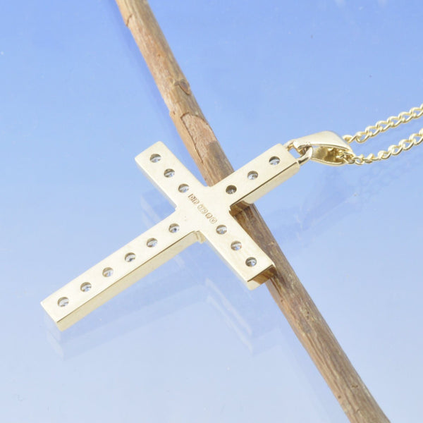 Sparkling Cremation Ash Cross