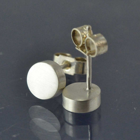 Cremation Ash Disc Studs Earring Chris-Parry-Handmade