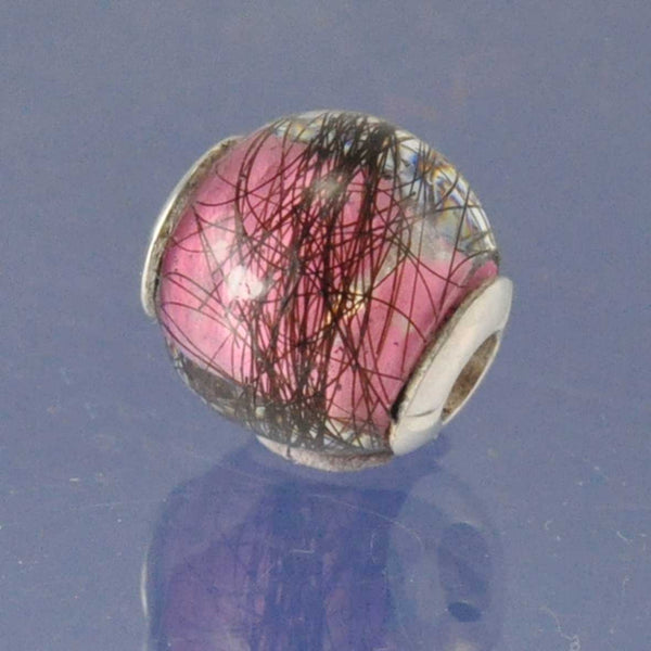 Hair Keepsake Bead (Fits Small Pandora Essence Bracelet)
