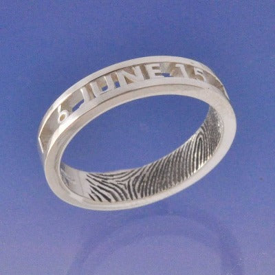 Fingerprint Ring - Cut Out
