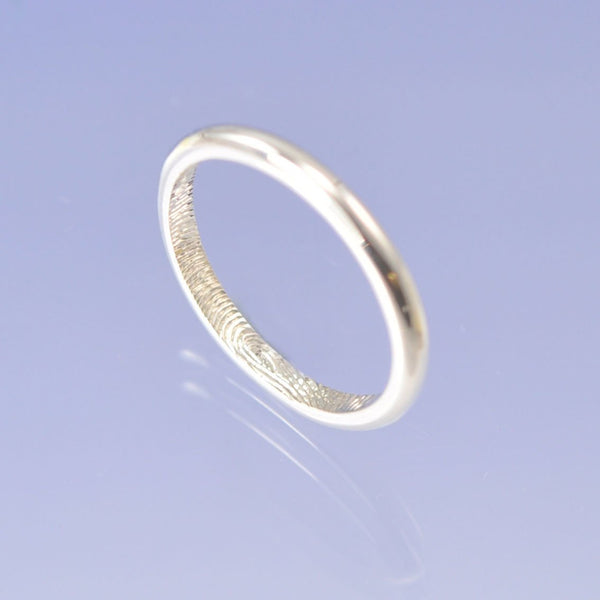 Fingerprint Ring - 9k Gold
