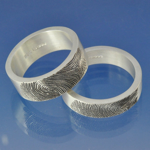 Fingerprint Ring - Sterling Silver