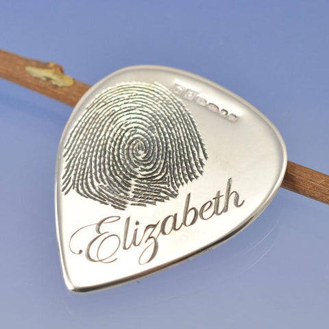 Fingerprint Guitar Plectrum