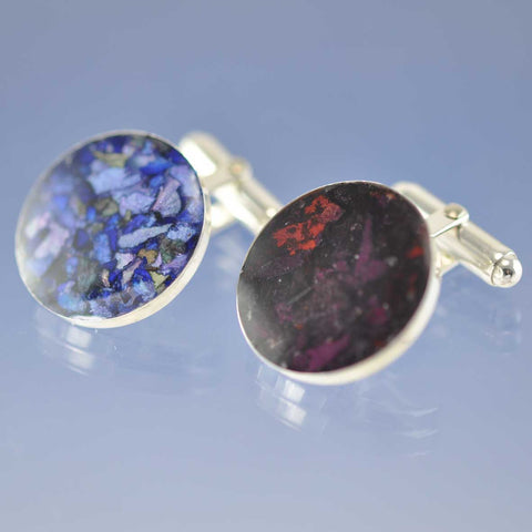 Your Dried Flower Petals - Cufflinks