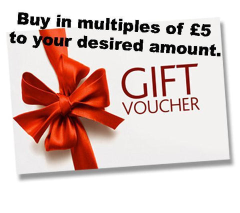 Gift Voucher Chris-Parry-Handmade