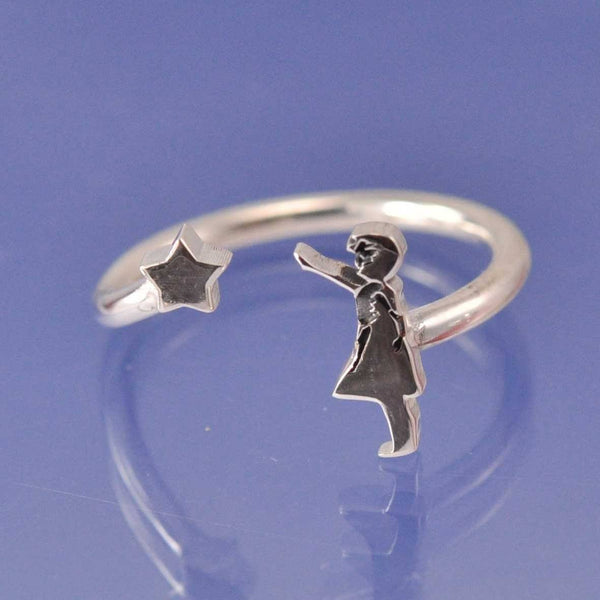 Banksy Star Girl Ring