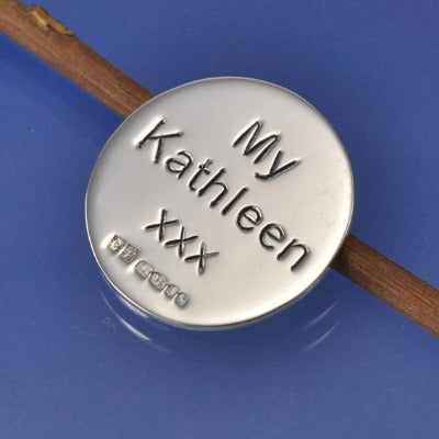 Personalised Golf Ball Marker
